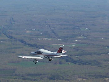 Sightseeing flight over shenandoah valley